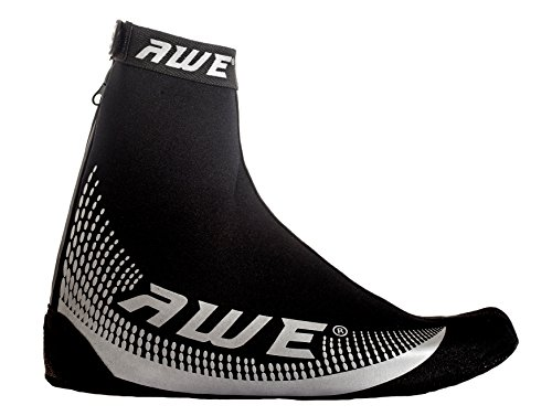 AWE® AWEBright�?3M Scotchlite Sobre la cubierta del zapato Neoprene negro