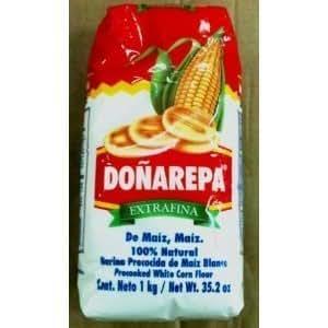 Amazon.com : Donarepa Precooked White Corn Flour by