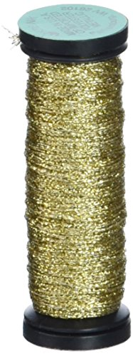 Kreinik No.8 Fine Metallic Braid Trim, 10m, Gold