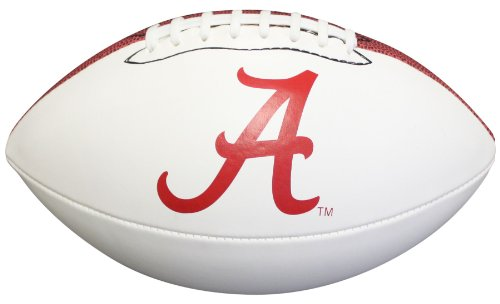 NCAA Alabama Crimson Tide Autograph Football, Brown, Official Size