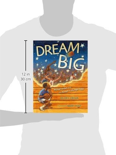 Dream Big: Michael Jordan and the Pursuit of Olympic Gold (Paula Wiseman Books) by Simon & Schuster/Paula Wiseman Books (Image #3)