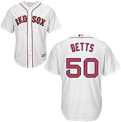 brand new 60176 49f95 Amazon.com : Majestic Athletic Men's Boston Red Sox Mookie ...