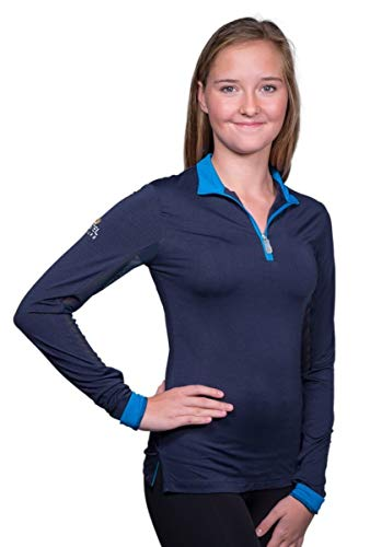 Kastel Denmark Women's Charlotte Signature Collection (Navy/Sky Blue, Medium) ()