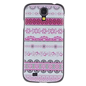 hao Gingham Back Pattern Style Protective Plastic Back Case for Samsung Galaxy S4 I9500