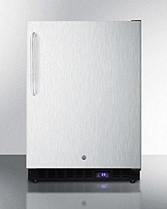 Summit SPFF51OSSSTB Outdoor Undercounter Freezer, Stainless Steel