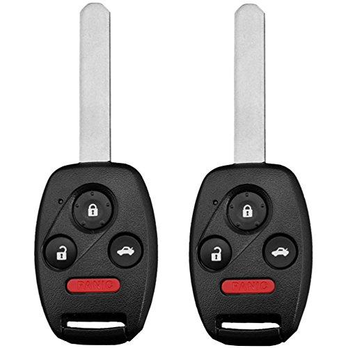 KEYO1E Keyless Entry Remote Control Car Key Fob for HONDA CIVIC 46 Chip FCC N5F-S0084A 3248A-S0084A 35111-SVA-306 (2 Yr Warranty) of 2
