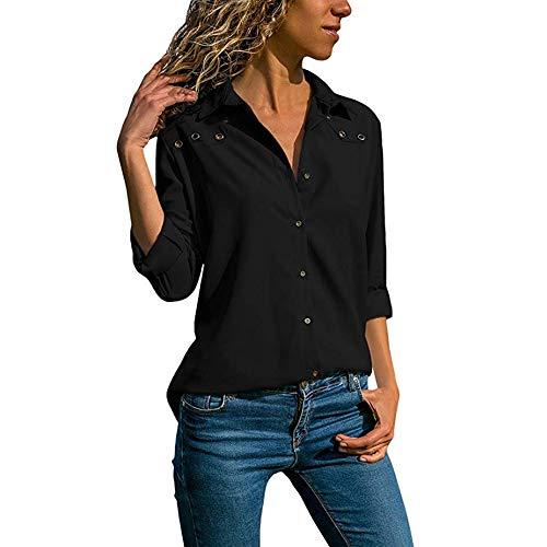 Noir Blouse Mode Sexy Vetements Longue Manches 1 Dcontracte t Femmes Chemise OVERMAL Chic Haut et Sweatshirts Automne T en Top Shirt Vrac P1U8fqxxAw