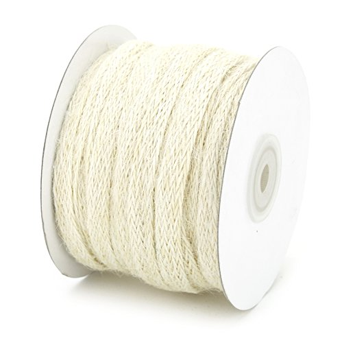 Ivory Ribbon Jute (Kel-Toy Inc 3/8