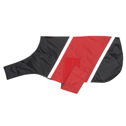 ULTRA PAWS REFLECTIVE RED DOG JACKET WATER RESISTANT ALL SIZES WINTER FLEECE LINED (Medium) by Ultra Paws (Image #6)