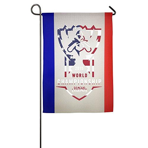 2016 LOL World Championship CLG USA Flag Indoor Flag House Flag Fashion Garden Flag Outdoor Flag (2 (Halloween Usa Detroit)