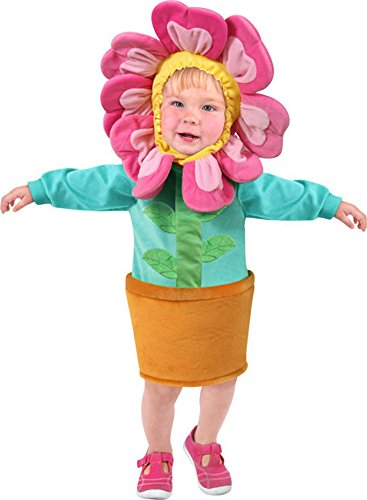 [Unique Child's Toddler Flower Costume (Size: 2-4T)] (Unique Costumes For Girls)