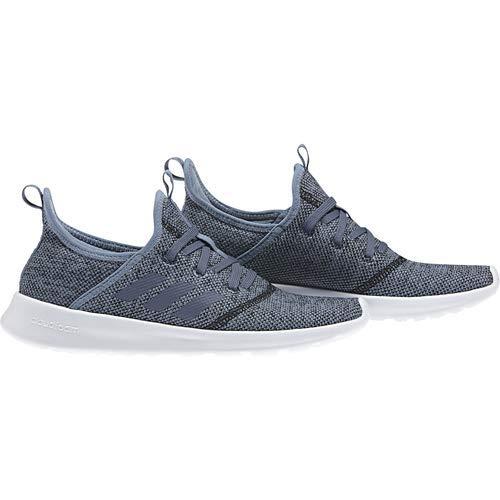 adidas Performance Women's Cloudfoam Pure Running Shoe, Raw Grey/Tech Ink/Black, 5 M US by adidas (Image #7)