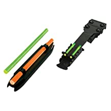 Hi-Viz Combo Pack, Front and Rear Sights (Fits Shotguns with Vent Ribs 7/32-Inch-21/64-Inch)