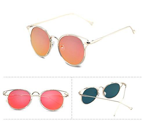 Gafas Protection sol Color Gafas sol de X701 coreanas de UV 1 para QQB gafas 1 mujer personalizadas 100 wO0HXq