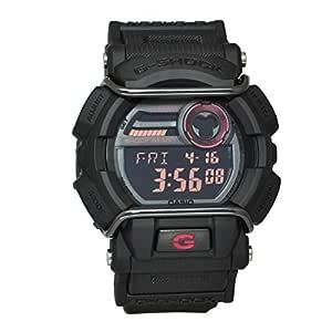 Casio Resin Digital Sport Watch For Men - Black Red, GD-400-1DR
