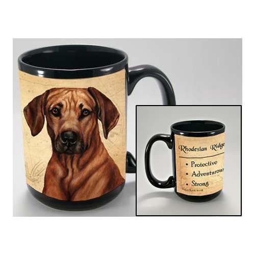 (MY FAITHFUL FRIEND RHODESIAN RIDGEBACK COFFEE CUP MUG PET GIFT)