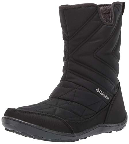 - Columbia Women's Minx Slip III Mid Calf Boot, Black, steam, 9 Regular US