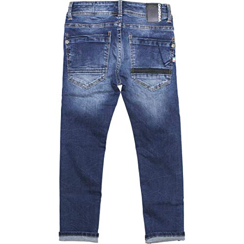 Vingino Adamos Flex Fit Jeans Destroyed Blue Vintage Aw 19//20