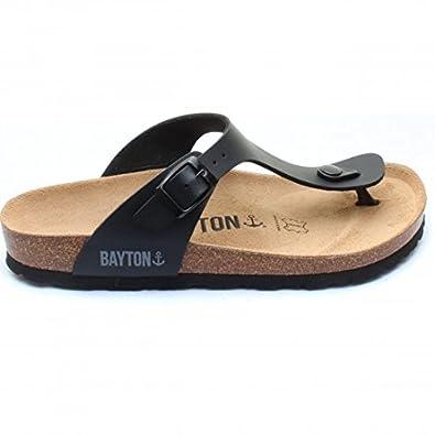 Espadrilles - gris foncé (41 Sandales et nu-pieds en Cuir Marron Yokono Chaussures Bayton noires Fashion homme 43 9fHsf