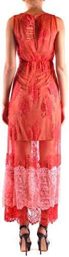 Luxury Fashion | Aniye By Dames MCBI36333 Rood Polyester Jurken | Seizoen Outlet
