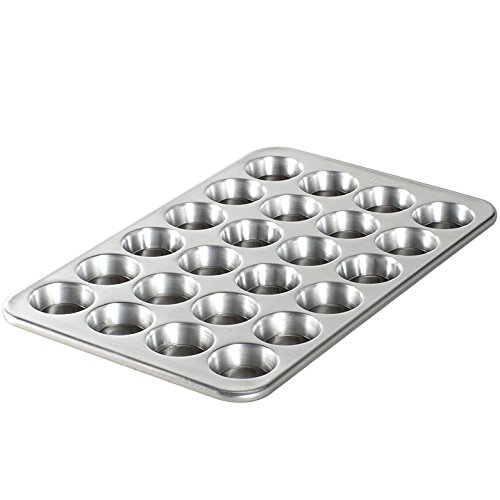 Nordic Ware Natural Aluminum Commercial Petite Muffin Pan, - Mini Ware