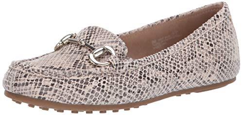 Aerosoles A2 Women's Drive Back Shoe, Bone Snake, 6 W US