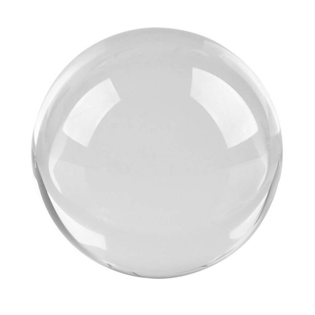 uxcell 40mm Diameter Acrylic Ball Clear//Transparent Plexiglass Sphere Ornament Solid Balls 1.6 Inches for Home Decor 5 Pcs