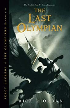 The Last Olympian 1423101502 Book Cover