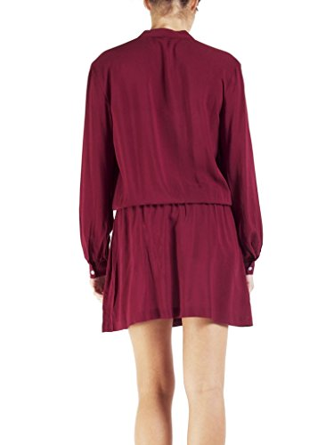 form für Jeans langarm Bordeaux fit 470 tunika Kleid regular Carrera frau 283 RZYgUg