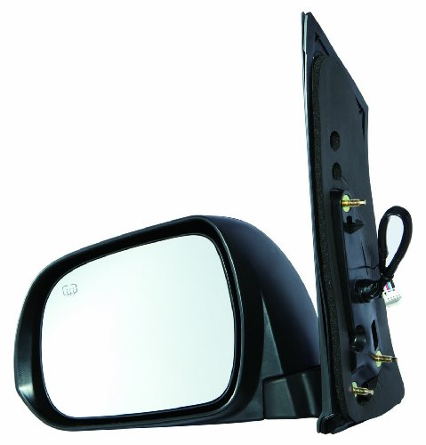 Depo 312-5412L3EBH Toyota Sienna Driver Side Textured Heated Power Mirror - Driver Sienna