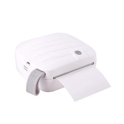 AYQ Mini Impresora térmica de Bolsillo Impresora inalámbrica ...