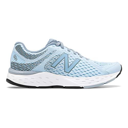New Balance Women's 680v6 Cushioning Running Shoe, air/Reflection, 6.5 B US