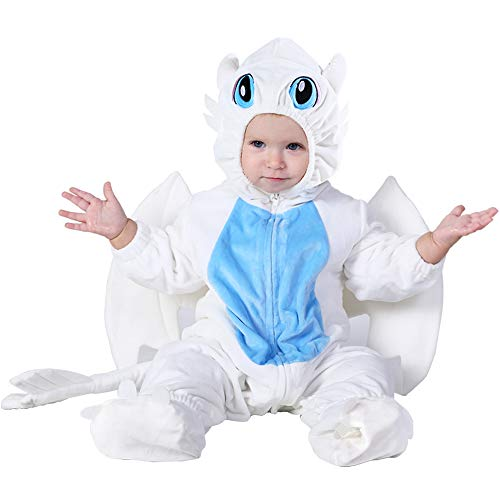 Hsctek Girls Baby Dragon Costume,Kids and Baby Costumes 12 18 Months,Infant Toddler Halloween Costumes for Girls Boys