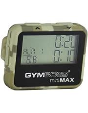 Gymboss miniMAX intervall timer och tidtagarur – kamouflage / solbränna mjukrock