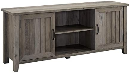 Pemberly Row 58 TV Stand in Gray Wash