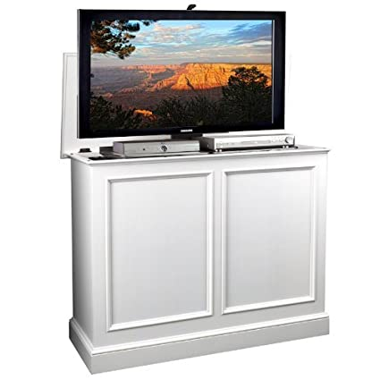 Delicieux TVLiftCabinet, Inc Carousel White TV Lift Cabinet
