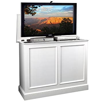 size 40 777c9 c31bd Amazon.com: Carousel White TV Lift Cabinet: Kitchen & Dining
