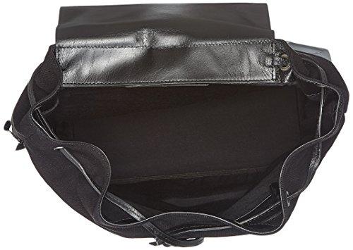 Royal Republiq Bucket Canvas - Zaini Donna Schwarz black 13x40x27 5 Cm b X H T