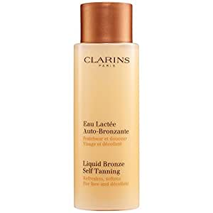 Clarins - Liquid Bronze Self Tanning - Face & Decollete ( Unboxed )--125ml/4.2oz for Women