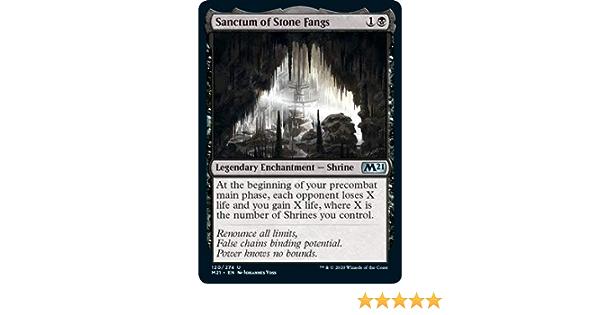 Magic Core Set 2021 The Gathering Sanctum of Stone Fangs