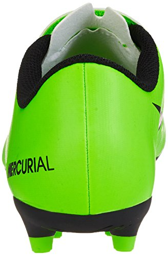 Nike Jr Mercurial Vortex Iii (V) Fg, Botas de Fútbol Unisex Niños Verde (Electric Green / Blk-Flsh Lm-Wht)