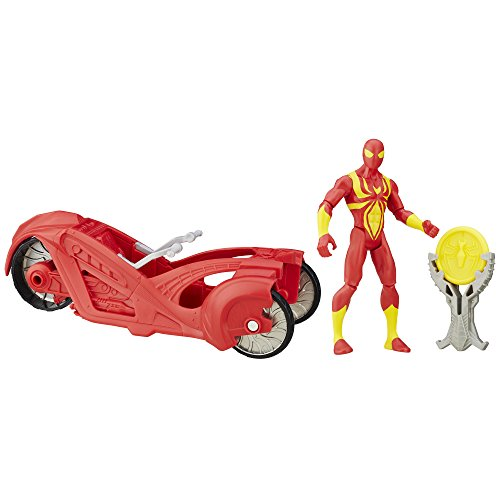 Ultimate Spider-Man vs. The Sinister Six: Iron Spider with Armor (Iron Spider Man)
