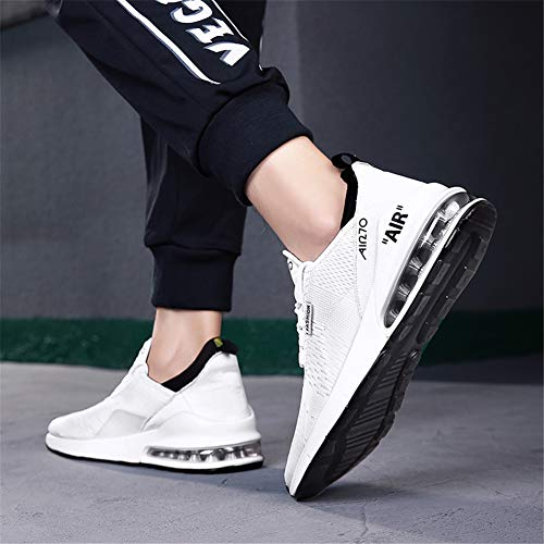 Femme Casual Sport Blanc Fitness 46eu Sneakers Multisports 1 Gym Baskets Air Mode Outdoor Course De Chaussures 36 Homme R5yyqfw8