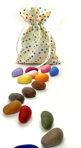 Amazon.com: Crayon Rocks 32 Color Multi Dot Bag: Office Products