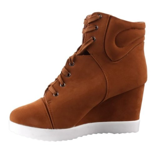 camel Marrone Sneaker Donna Young fashion qIgUwAZX