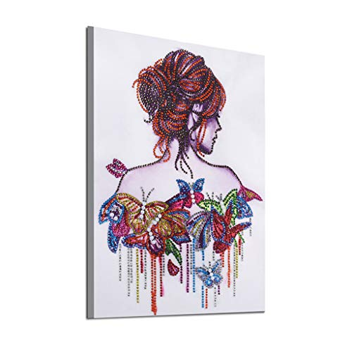 Orcbee  _Special Shaped Diamond Painting DIY 5D Partial Drill Cross Stitch Kits Crystal Home Decor