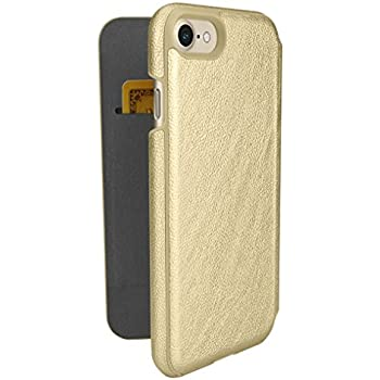 Silk iPhone 7/8 Wallet Case - Sofi Wallet Case for iPhone 7/8 [Lightweight Fashion Grip Card Cover] - Champagne Gold