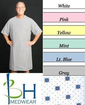 BHmedwear Velcro Closure Hospital Gown product image