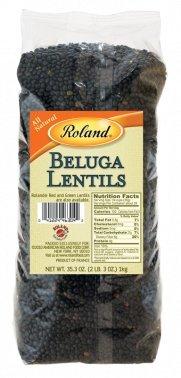 Roland: Beluga Lentils 35 Oz (10 Pack) by Roland