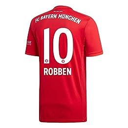 adidas Maillot Bayern Munich Domicile Robben 10 2019-2020 (Impression Officielle)